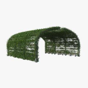 ivy pergola 3D model