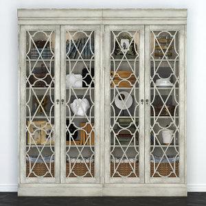 showcase hooker furniture arabella 3D