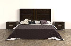 king bed alf soprano 3D model