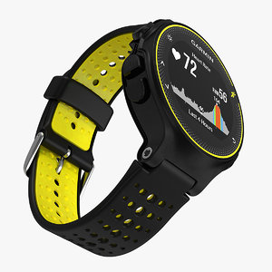 3D garmin forerunner 235 gps model