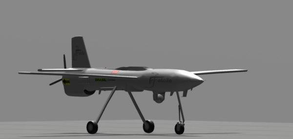 falco aircraft model