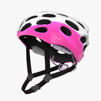 3D bicycle helmet cycling model