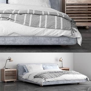 3D model jardan sunny bed