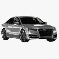 Audi S8 with Interior