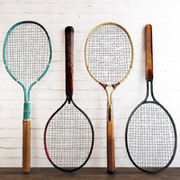 3D dayton metal tennis rackets model