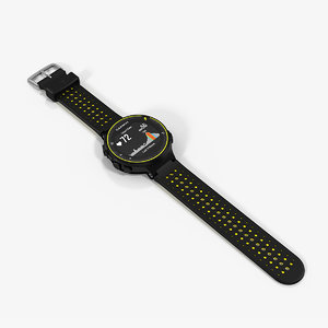 garmin forerunner 235 activity 3D model