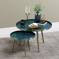 3D enamelled tables decor items