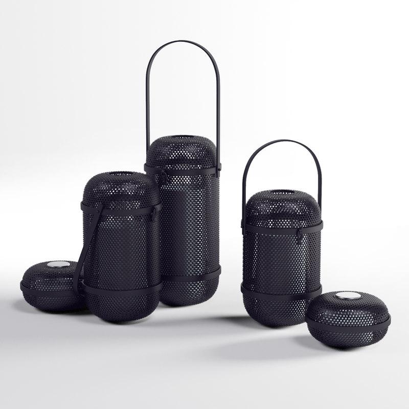 3D black holders