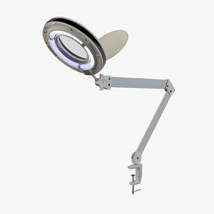 3D magnifier lamp