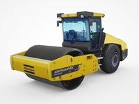 dynapac ca1500 asphalt roller 3D model