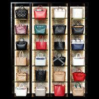 3D model stores bags