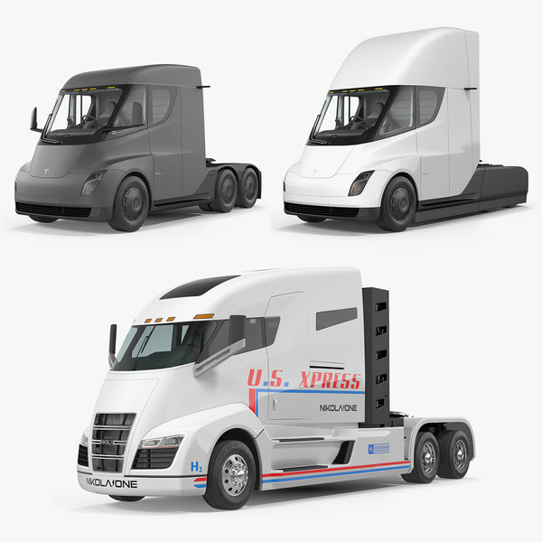 3D chargepoint electric trucks