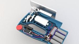power jig saw 3D model