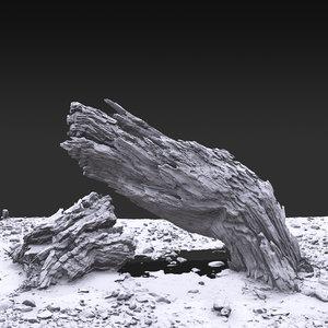 desert tree 3D