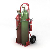 Oxy-Acetylene Cart 2