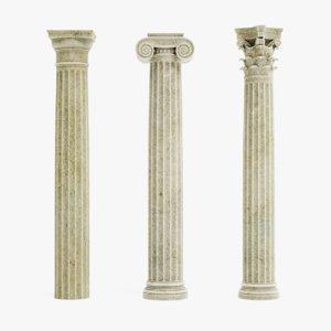 columns pbr model
