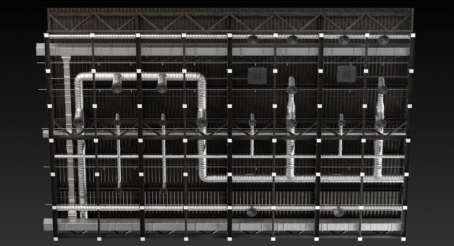 3D ceiling ventilation 31