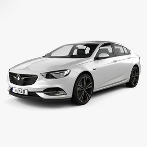 3D vauxhall insignia grand