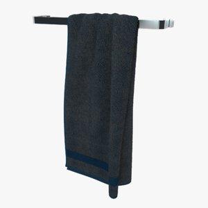 3D hanging towel