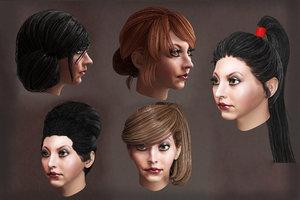female hairs hairstyles 10 model