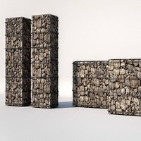 gabion 01 architecture design model