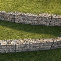 3D gabion set 01 grass