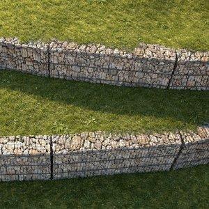 3D gabion set 01 grass
