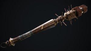 3D model club weapon