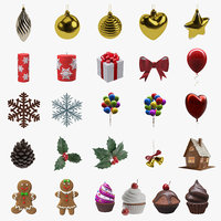 christmas decoration 3D