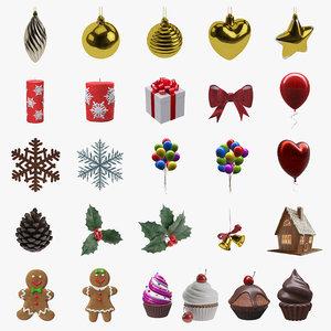 christmas decoration 3D
