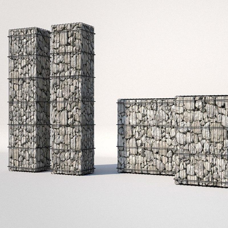 3D gabion architecture design