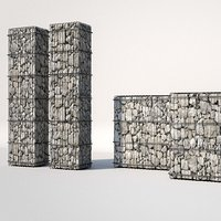 3D gabion architecture design