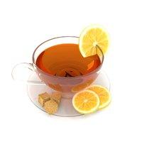 tea cup beverage sugar model