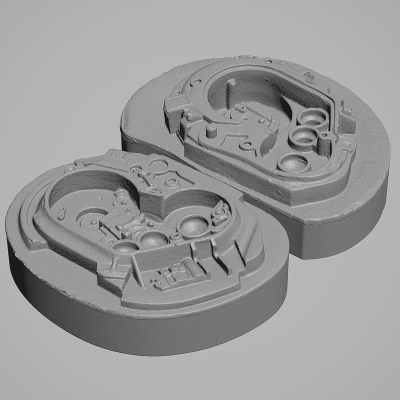 3D endo skull stan