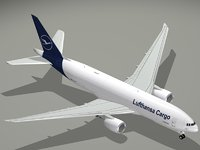 boeing lufthansa cargo b 3D model