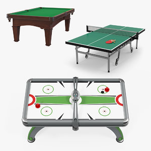 3D table games
