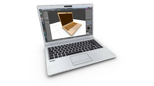 laptop 3D