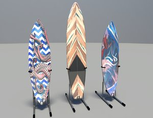 3D surfboard board surf
