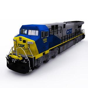 csx ge locomotive model