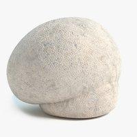 puffball mushroom 3D model