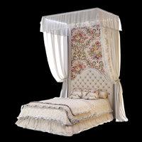 3D bed spencer halley