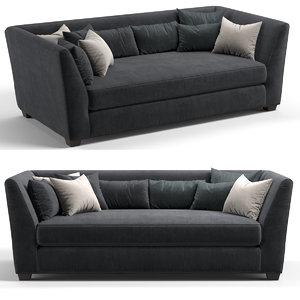 sofa fratelli boffi 3D model