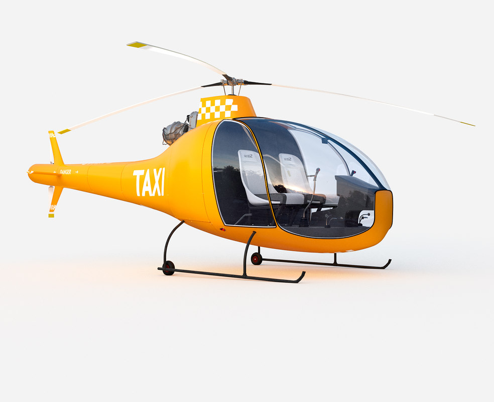 3D helicopter had1-t helineo model