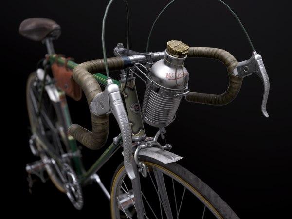 3D bike vintage road