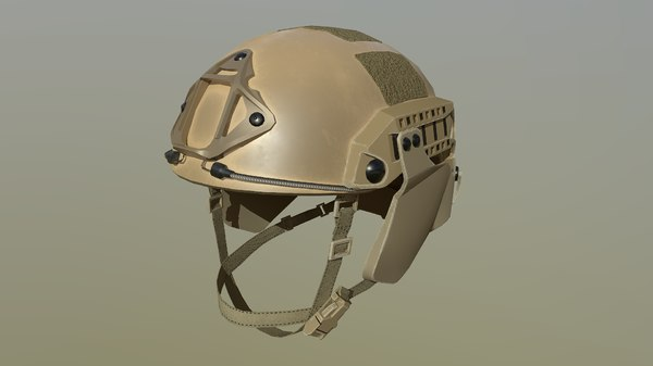 3D model ops-core helmet
