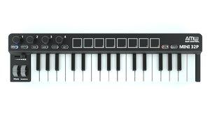 3D keyboard 32 midi