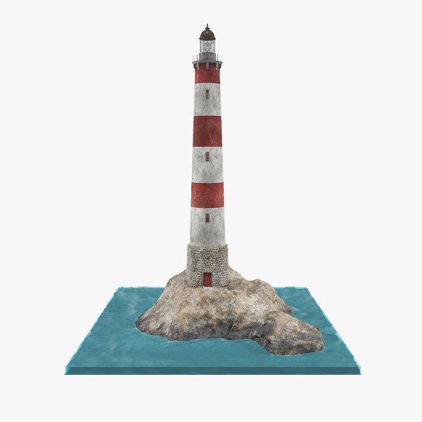 light house lighthouse 3D model