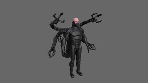 scifi character 3D