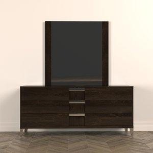 dresser furniture alf soprano 3D model