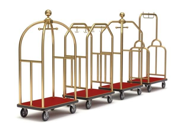 hotel cart set model